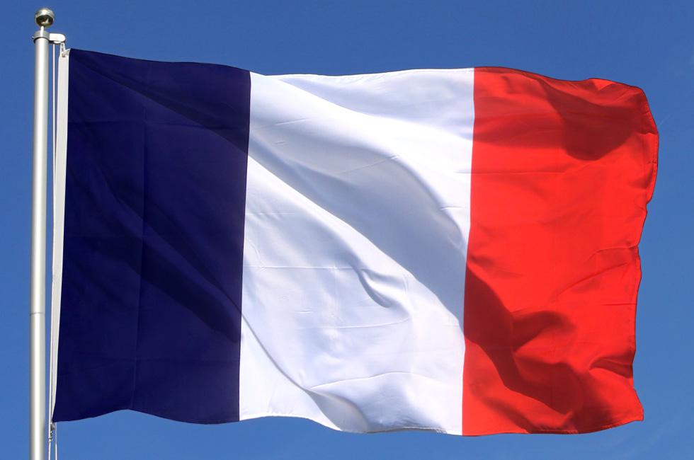 Франция флаг